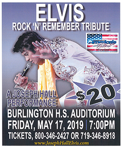 Elvis Tribute Concert Flyer