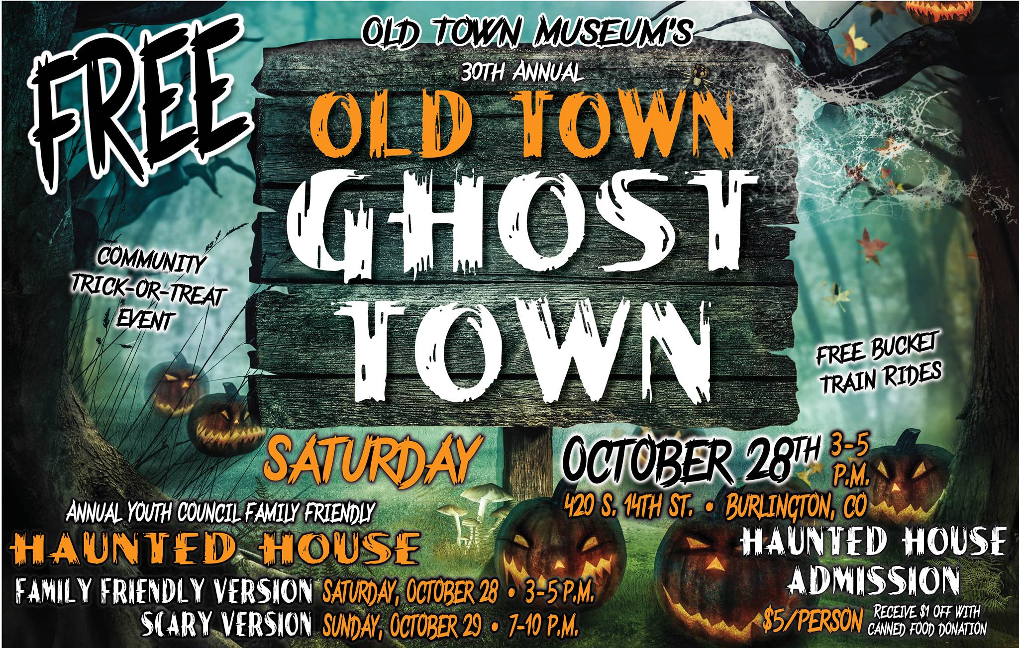 Old Town Ghost Town 2017