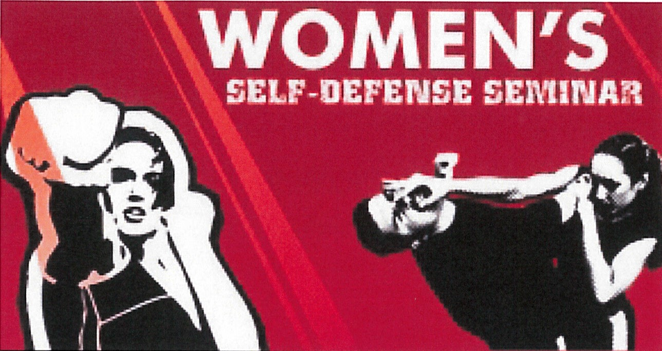 Women's Self Defense Seminar Header Image